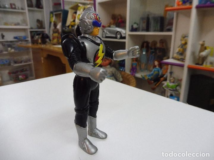 Figuras de acción: Mazinger Z soldado guerrero figura pvc articulada brazos y cintura sin marca - Foto 4 - 163086486