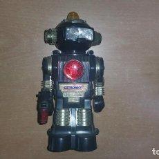 Figuras de acción: ROBOT ATTACKBOT CON LUCES Y SONIDO CREATIVE AÑO 1986 TAIWAN. Lote 163970974