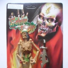 Figuras de acción: SKELETON FIGHTER SKELETON WARRIORS FIGURA BOOTLEG NUEVA EN BLISTER. Lote 164280458