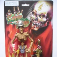 Figuras de acción: SKELETON FIGHTER SKELETON WARRIORS FIGURA BOOTLEG NUEVA EN BLISTER. Lote 164280774