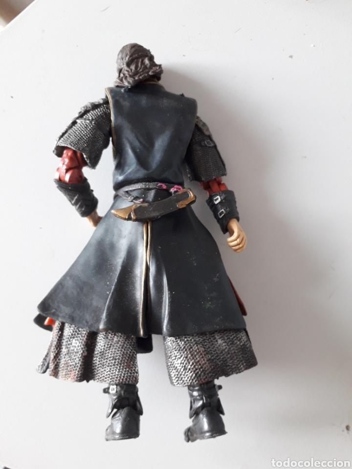 Figuras de acción: Aaragorn Marvel Figura de el señor de los anillos articulado pulgar roto unos 18 cm - Foto 2 - 164598705