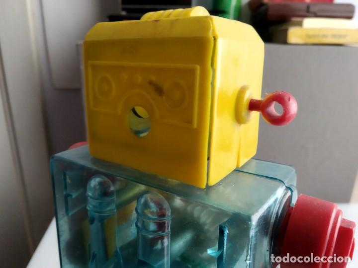 Figuras de acción: ANTIGUO ROBOT AÑOS 60 MUY RARO A CUERDA - Foto 11 - 165201058