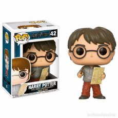 Figuras de acción: FIGURA POP HARRY POTTER HARRY WITH MARAUDERS MAP. Lote 166128266