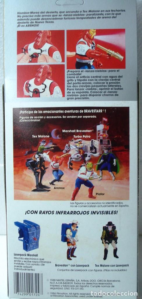 Figuras de acción: BRAVESTARR : ARENOX. AÑOS 80. DE MATTEL .NUEVO, PRECINTADO. - Foto 4 - 194879116