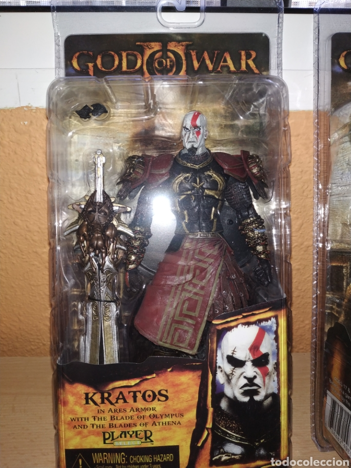Figura god of war Kratos in ares armor 19 cm