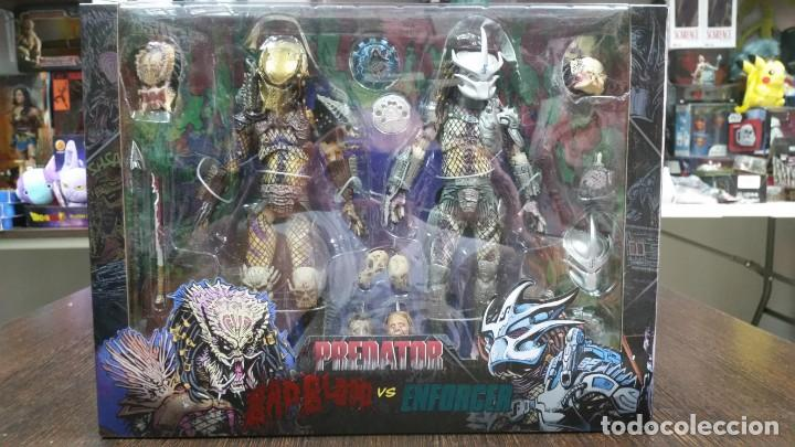 PACK DOS FIGURAS PREDATOR ULTIMATE BAD BLOOD & ENFORCER NECA