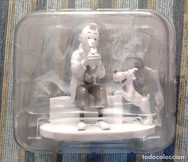 FIGURA RESINA TINTIN Y MILU BLANCO Y NEGRO HORS-SERIE Nº 9 (ULTIMA):EL CANGREJO DE LAS PINZAS DE ORO (Juguetes - Figuras de Acción - Otras Figuras de Acción)
