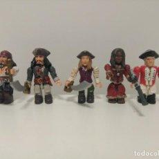 Figurines d'action: LOTE 7 FIGURAS PIRATAS DEL CARIBE DE MEGA BLOCKS, VER FOTOS, AÑADIDO UN NUEVO LOTE.. Lote 169812260