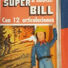Figuras de acción: SUPERBILL BOMBERO ANDUPLAST VINTAGE. Lote 171024212