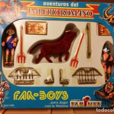 Figuras de acción: ANTIGUA Y RARA CAJA FAR-BOYS IMPERIO ROMANO COMPLETO. Lote 171133770