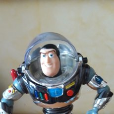 Figuras de acción: TOY STORY- BUZZ LIGHYEAR INTERGALACTICO- ULTIMATE TALKING ACTION FIGURE..THINKWAY TOYS. Lote 171239400