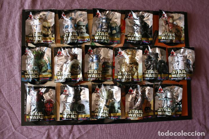 STAR WARS 16 BEARBRICK PEPSI JAPAN 2008 MEDICOM FIGURE COLECCIÓN COMPLETA (Juguetes - Figuras de Acción - Otras Figuras de Acción)