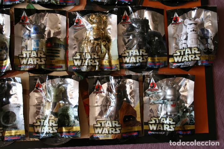 Figuras de acción: STAR WARS 16 BEARBRICK PEPSI JAPAN 2008 MEDICOM FIGURE COLECCIÓN COMPLETA - Foto 4 - 171656355