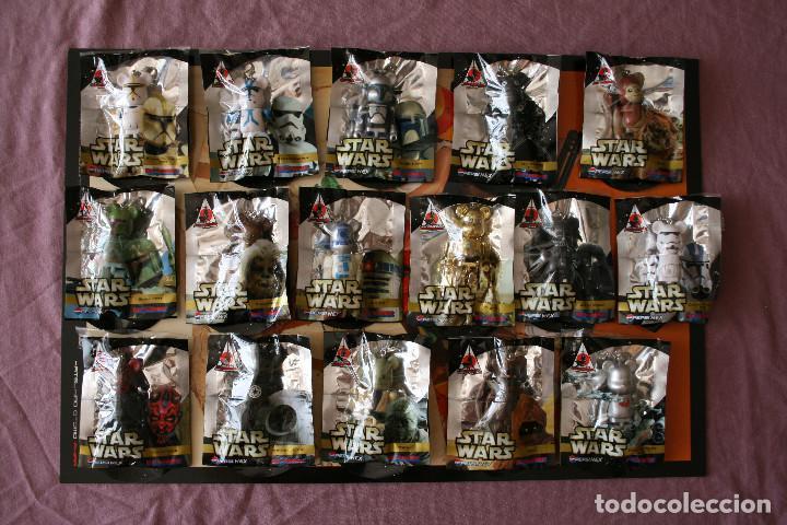 Figuras de acción: STAR WARS 16 BEARBRICK PEPSI JAPAN 2008 MEDICOM FIGURE COLECCIÓN COMPLETA - Foto 6 - 171656355