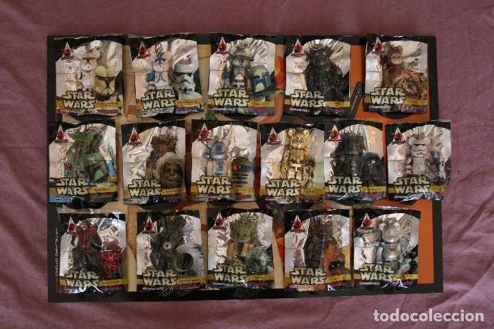 Figuras de acción: STAR WARS 16 BEARBRICK PEPSI JAPAN 2008 MEDICOM FIGURE COLECCIÓN COMPLETA - Foto 7 - 171656355
