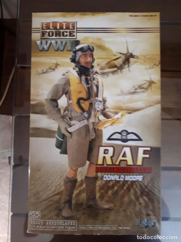 PILOTO RAF WW2 1/6 ELITE FORCE (Juguetes - Figuras de Acción - Otras Figuras de Acción)