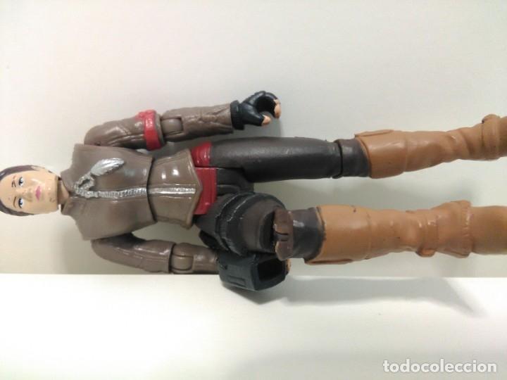 Figuras de acción: Figura de Blair Williams de la película Terminator Salvation de Playmates Toys TM © 2009 TAAG - Foto 5 - 172543533
