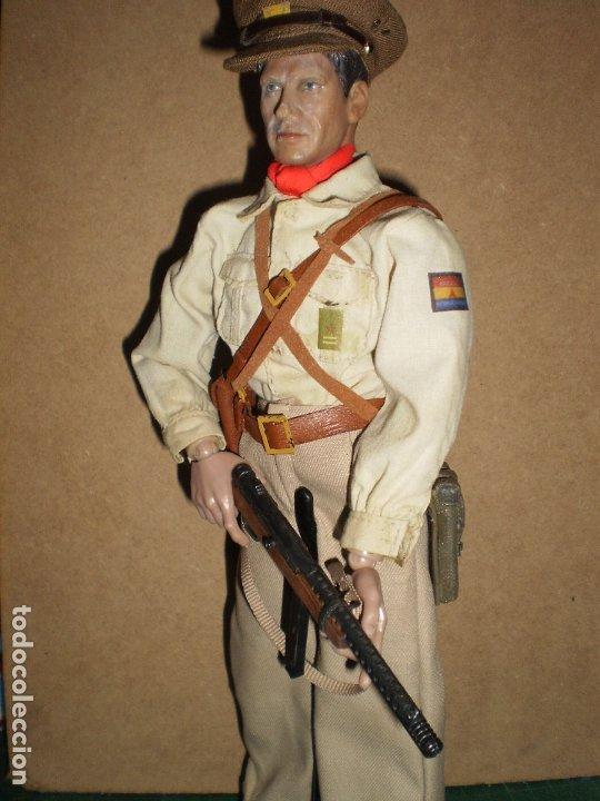 Figuras de acción: CUSTOM DRAGON OFICIAL DE LAS BRIGADAS INTERNACIONALES GCE ESCALA 1/6 - Foto 2 - 173368673
