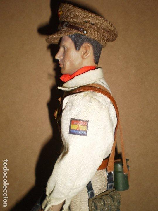 Figuras de acción: CUSTOM DRAGON OFICIAL DE LAS BRIGADAS INTERNACIONALES GCE ESCALA 1/6 - Foto 3 - 173368673