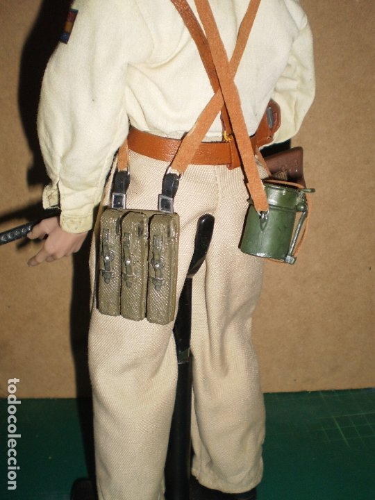 Figuras de acción: CUSTOM DRAGON OFICIAL DE LAS BRIGADAS INTERNACIONALES GCE ESCALA 1/6 - Foto 5 - 173368673