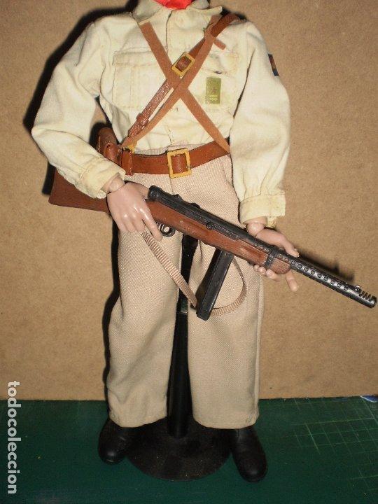 Figuras de acción: CUSTOM DRAGON OFICIAL DE LAS BRIGADAS INTERNACIONALES GCE ESCALA 1/6 - Foto 8 - 173368673