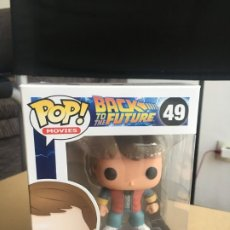 Figuras de acción: FUNKO POP MOVIES - REGRESO AL FUTURO - MARTY MCFLY #49 - (VAULTED) - ORIGINAL EN BUEN ESTADO. Lote 173550498