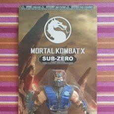 Figuras de acción: SUB-ZERO MORTAL KOMBAT X SAVAGE WORLD NEW NUEVO EN BLISTER. Lote 160912898