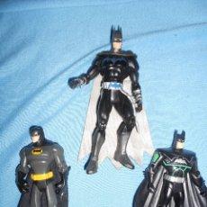 Figuras de acción: LOTE DE BATMANS A UNO LE FALTAN LAS OREJAS. Lote 173763162
