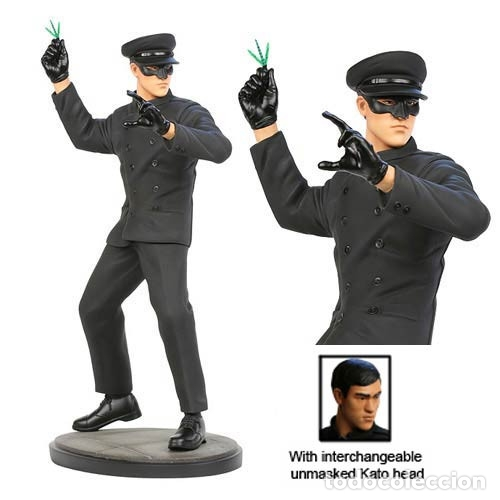 Figuras de acción: green hornet - Bruce lee - Hollywood Collectibles - ESCALA 1:6 - Estatua kato - Foto 5 - 174966774
