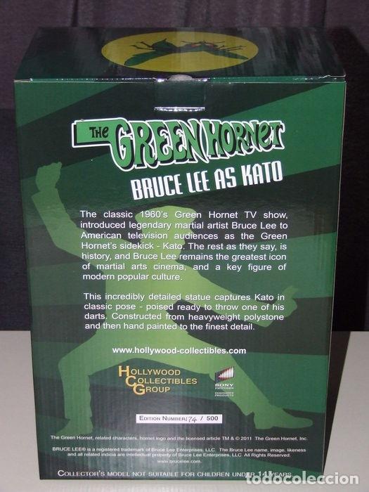 Figuras de acción: green hornet - Bruce lee - Hollywood Collectibles - ESCALA 1:6 - Estatua kato - Foto 6 - 174966774