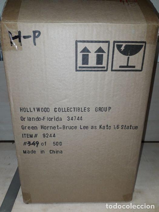 Figuras de acción: green hornet - Bruce lee - Hollywood Collectibles - ESCALA 1:6 - Estatua kato - Foto 12 - 174966774