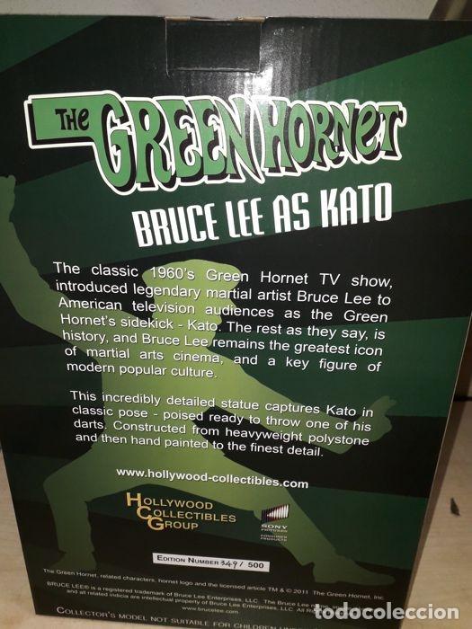 Figuras de acción: green hornet - Bruce lee - Hollywood Collectibles - ESCALA 1:6 - Estatua kato - Foto 14 - 174966774