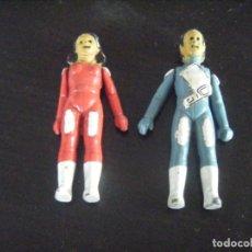 Figurines d'action: JML LOTE 2 FIGURAS DE METAL TV ÉRASE UNA VEZ... CUERPO HUMANO ESPACIO - 7 CM ALTURA RAROS VER FOTO. Lote 197943290