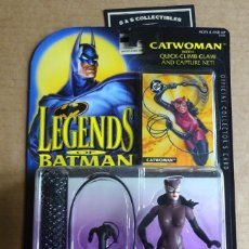 Figuras de acción: CATWOMAN LEGENDS BATMAN.KENNER.1994.. Lote 175463160