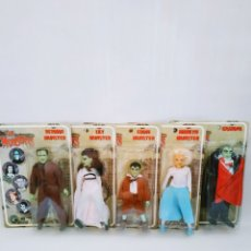 Figuras de acción: LA FAMILIA MONSTER - THE MUNSTERS 1960 SERIE TV - FIGURAS DE ACCIÓN CLASSIC TV TOYS. Lote 175546277