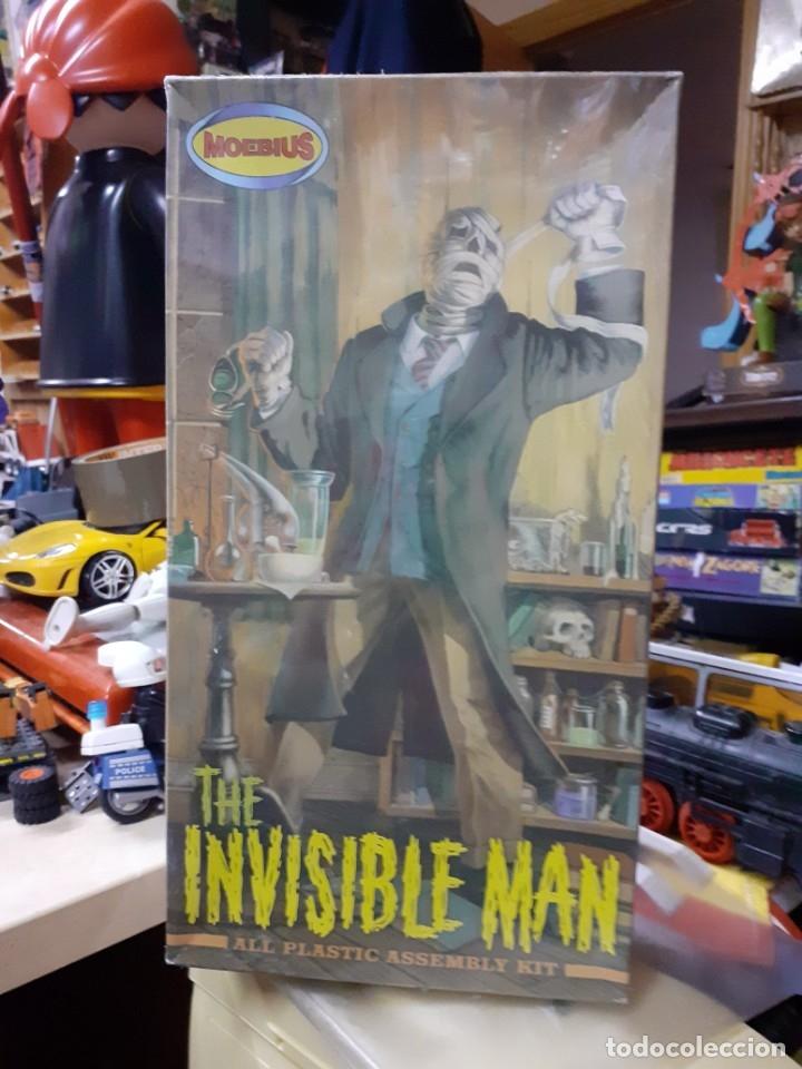 MOEBIUS KIT.EL HOMBRE INVISIBLE.INVISIBLE MAN KIT DE MONTAJE. (Juguetes - Figuras de Acción - Otras Figuras de Acción)