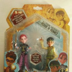 Figuras de acción: MATT HATTER CHRONICLES ACTION HEROES ROXIE & GÓMEZ. Lote 175811103