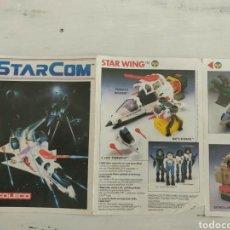 Figuras de acción: CATÁLOGO STARCOM. Lote 176540982