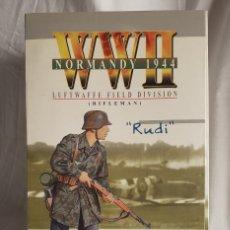 Figuras de acción: RIFLEMAN RUDI WWII NORMADY 1944 ACTION FIGURE DRAGON ESCALA 1/6. Lote 218593095