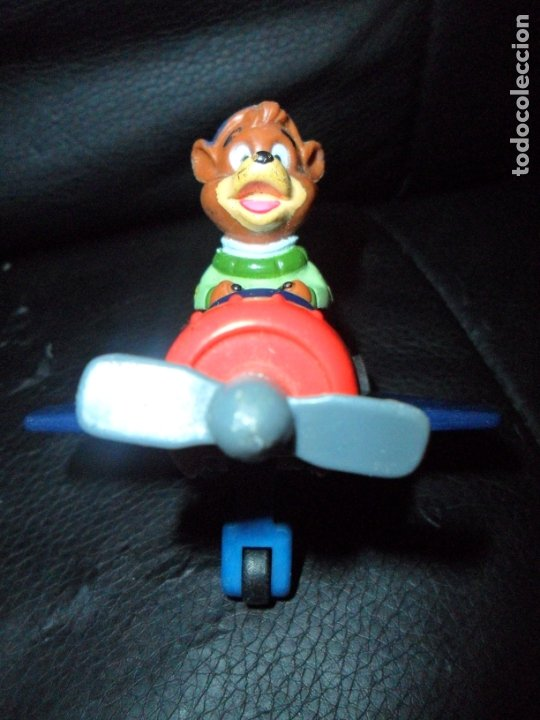 Figuras de acción: KIT NUBARRON - AVENTUREROS DEL AIRE - SERIE TV DISNEY - AVION CON RESORTE DE ACCION - - Foto 2 - 177177462