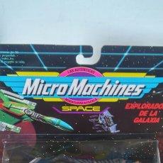 Figuras de acción: MICROMACHINES EXPLORADORES GALAXIA 2.MICRO MACHINES SPACE.FAMOSA 1993.SIN ABRIR.. Lote 206898776