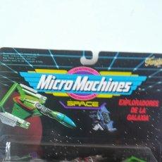 Figuras de acción: MICROMACHINES EXPLORADORES GALAXIA 3.MICRO MACHINES SPACE.FAMOSA 1993.SIN ABRIR.. Lote 206898862