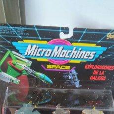 Figuras de acción: MICROMACHINES EXPLORADORES GALAXIA 7.MICRO MACHINES SPACE.FAMOSA 1993.SIN ABRIR.. Lote 206899636
