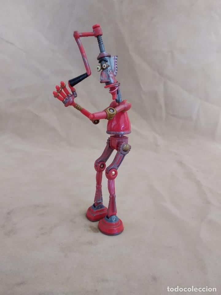 Figuras de acción: Muñeco articulado o de acción de la serie Robots, plástico y metal, unos 18 cms. de alto - Foto 2 - 178865681