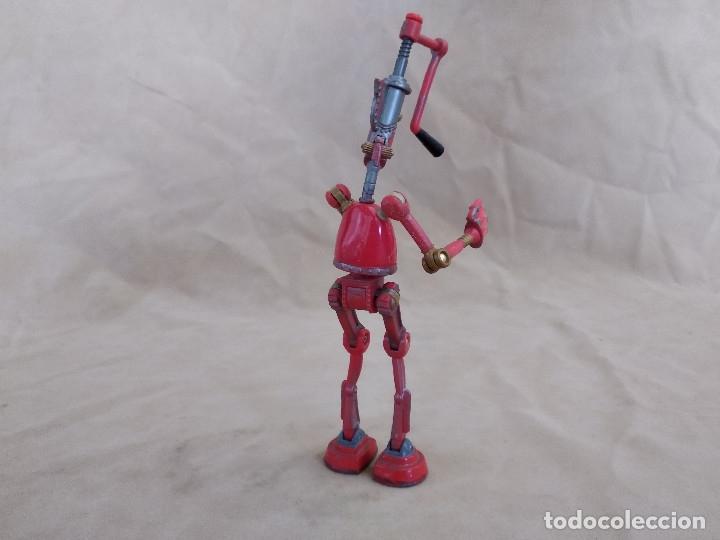 Figuras de acción: Muñeco articulado o de acción de la serie Robots, plástico y metal, unos 18 cms. de alto - Foto 5 - 178865681