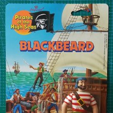Figuras de acción: BLACKBEARD (BARBANEGRA) - PIRATES OF THE HIGH SEAS / IMPERIAL TOYS 1990 / FIGURA ARTICULADA / PIRATA. Lote 179080416