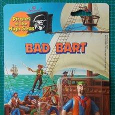 Figuras de acción: BAD BART (BARTHOLOMEW ROBERTS) -PIRATES OF THE HIGH SEAS/IMPERIAL TOYS 1990/FIGURA ARTICULADA/PIRATA. Lote 179080477