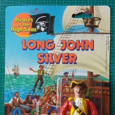 Figuras de acción: LONG JOHN SILVER -PIRATES OF THE HIGH SEAS/IMPERIAL TOYS 1990/ARTICULADA/PIRATA LA ISLA DEL TESORO. Lote 179080805