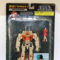 Figuras de acción: MACROSS - VALKYRIE VF-1D - ROBOT + FIGURA - NUEVO Y EN SU BLISTER ORIGINAL - MADE IN JAPAN. Lote 180221323