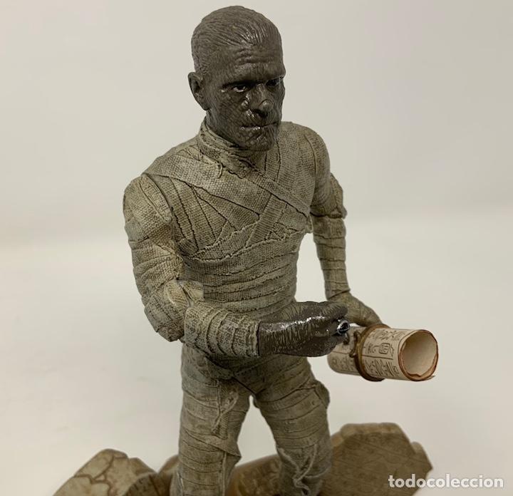 Figuras de acción: THE MUMMY BORIS KARLOFF 1932 FIGURA SIDESHOW. 21cm - Foto 2 - 181730023